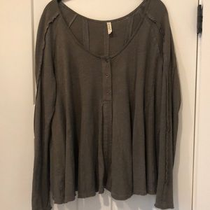 Perfect condition Free people shirt!